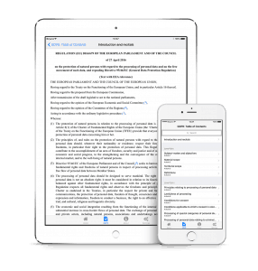 Download free GDPR iPhone and iPad App