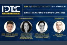 Moderating IDTC Summit's breakout session